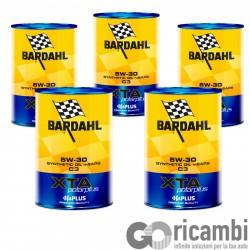 5 LT OLIO BARDAHL XTA Polar Plus 5W30 C3 MSAPS